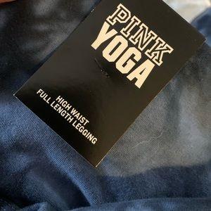 PINK Victoria's Secret Pants - Victoria's Secret pink blue tie dye yoga leggings